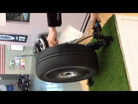 how to build 4 wheel hub motor car