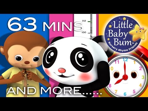 Growing Up Songs | Plus Lots More Nursery Rhymes | 63 Minute