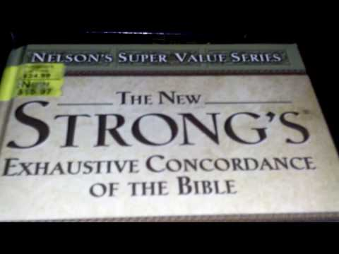 The New Strongs Exhaustive Concordance Of The Bible REVIEW