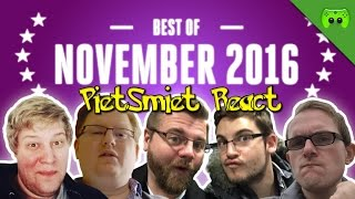 REACT: PietSmiet Best of November 2016