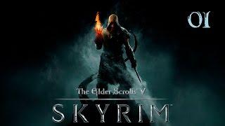 The Elder Scrolls V: Skyrim - Прохождение pt1 - На свободу!