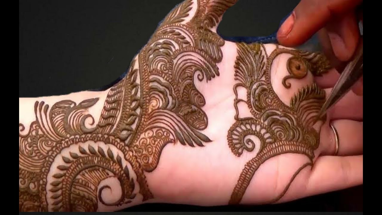 Full Hand Bridal Dulhan Mehndi Design Arabic Heena Design Youtube
