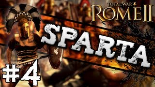 Total War: Rome II: Sparta Campaign #4 ~ Aiming for Athens!