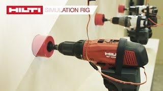 INTRODUCING the Hilti Active Torque Control Technology