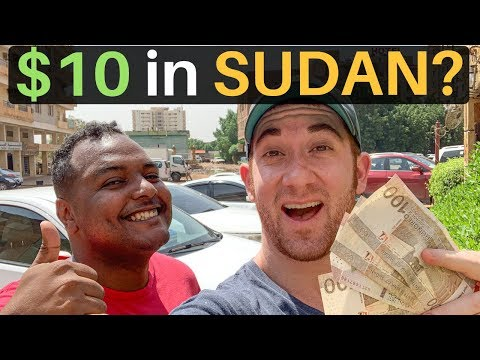 What Can $10 Get in SUDAN? (Budget Travel)