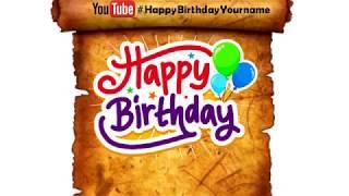 Happy Birthday Alexios | Whatsapp Status Alexios