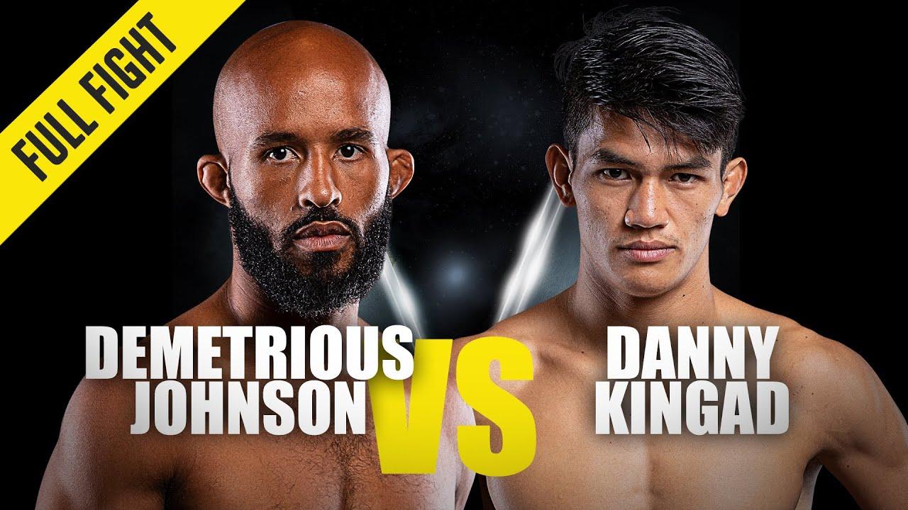 Demetrious Johnson vs. Danny Kingad   ONE Full Fight   October 2019