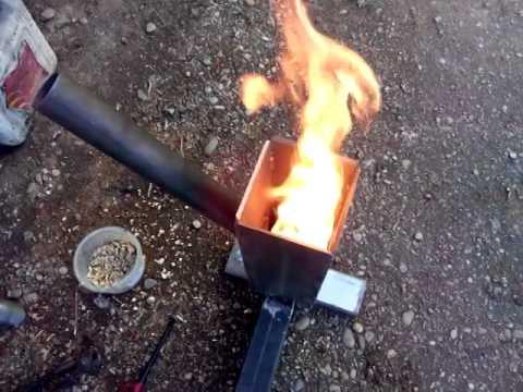 Pellet Burner Youtube