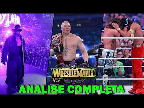 WRESTLEMANIA 34 [Análise Parte 02 - The Wrestling News]