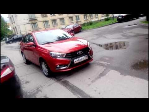 Lada Vesta Лада Веста Первые проблемы передняя подвеска