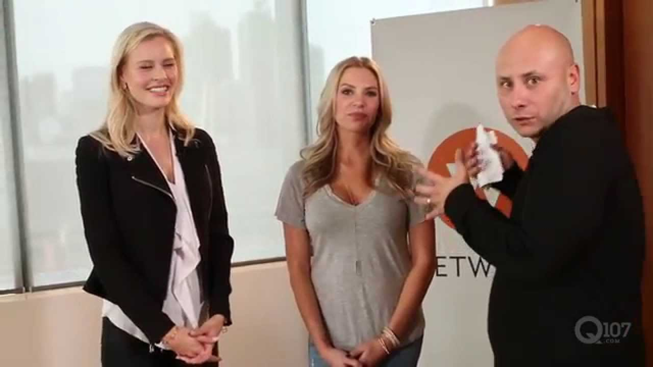 Angela Price And Martine Forget Of Hockey Wives Youtube