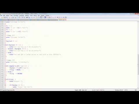 CIS 133P - Week 2 PPT - PHP Basics, Variables, Data Types, IF, Arrays