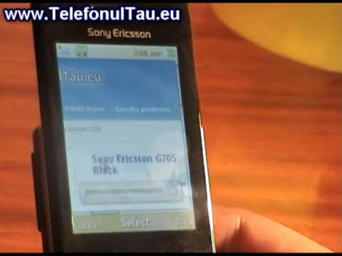 Sony Ericsson G705 review ( romanian )