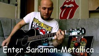 Enter Sandman - Metallica Fingerstyle Guitar Cover