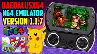 PS Vita/PSP DaedalusX64 v1.1.7! (More Improvements & Fixes?)