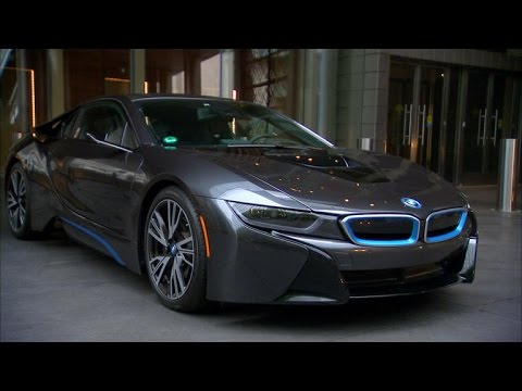 Lacking Mirrors Bmw I8 Gives Clear Rear Views Youtube