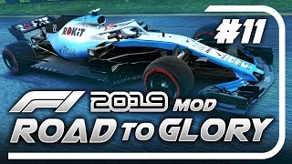 F1 Road to Glory 2019 - Part 11: 5 CARS DNF IN ONE CORNER!!!