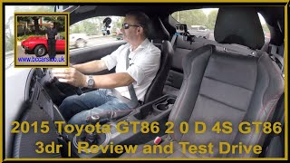 Review and Virtual Video Test Drive In Our 2015 Toyota GT86 2 0 D 4S GT86 3dr PF15WWO