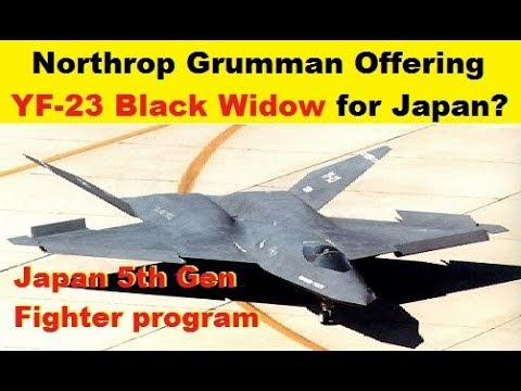 Northrop Grumman Offering YF-23 for Japanese Stealth Fighter