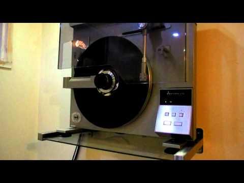 Mitsubishi LT 5V Linear Tracking Vertical Turntable