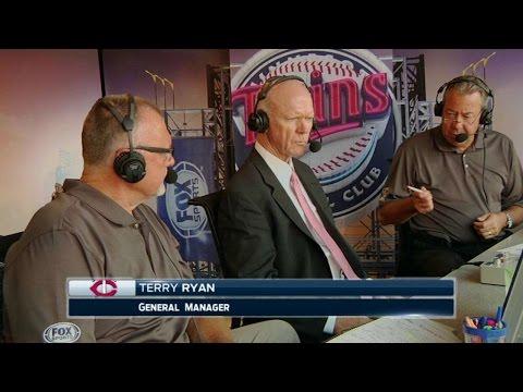 KC@MIN: GM Terry Ryan on Draft pick Tyler Jay