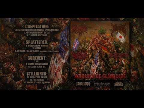 CREPITATION/SPLATTERED/GOREVENT/STILLBIRTH - WORLDWIDE SLAMICIDE [OFFICIAL STREAM] (2018) SW EXCL