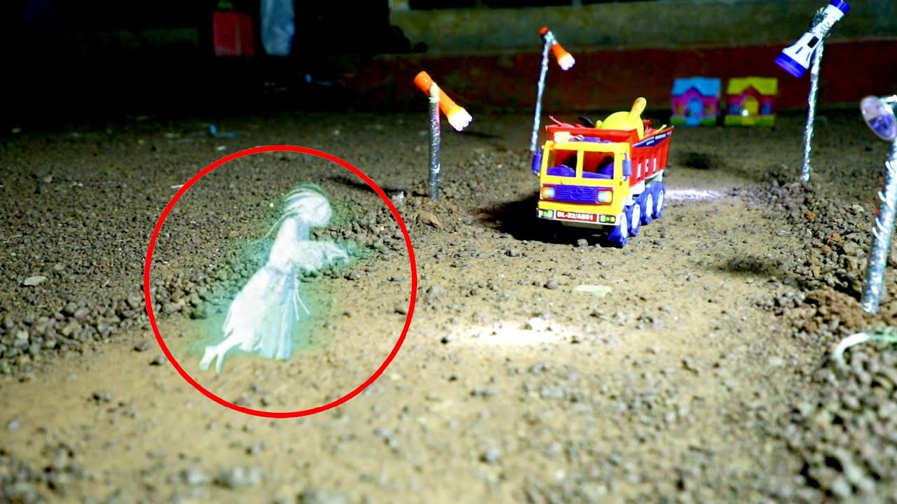 Ghost 👻 Caught On Camera ! Truck & Tractor Transport - Dhaba | Cs Toy