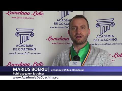MARIUS BOERIU  Absolvent Public Speaking Academia Romana De Coaching, iulie 2017