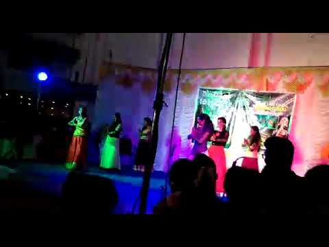 Cochin college M.com students dance performance