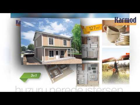 Prefabricated housing, Prefab homes prices, Karmod turkish
