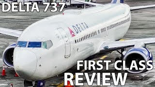 TRIP REPORT | Delta 737-800 (FIRST CLASS) Seattle to Salt Lake City