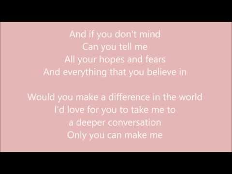 deeper conversation lyric - yuna - broken heart sad song make you cry