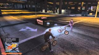 Can You Pick Up Girls On A Bike? - GTA V Funny Moments!