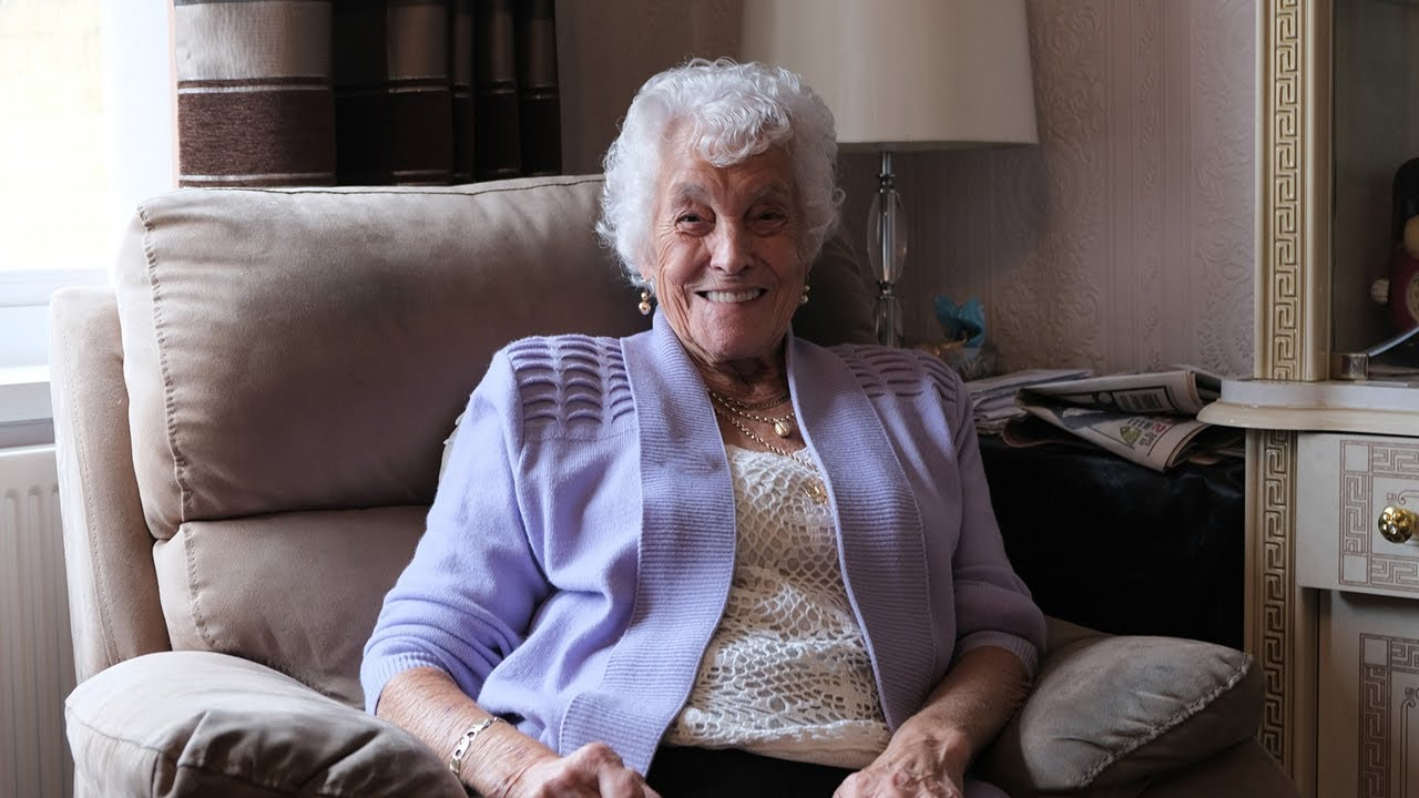 Trudy, 88, on loneliness in old age, dancing and making new friends