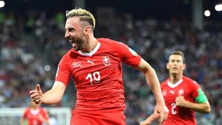 World Cup: Switzerland qualify for last 16 after Costa Rica draw