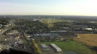 Landing at KTEB - Teterboro Intl. Airport - New Jersey / USA