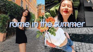 Travel Vlog: ROME, ITALY!!!!! || Amanda Steele