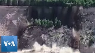 Video Captures Dramatic Cliff Collapse in New Zealand