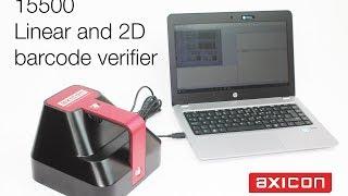 15500 1D/2D barcode verifier
