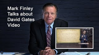 """Mark Finley talks about David Gates video """"Even at the Door"""""""