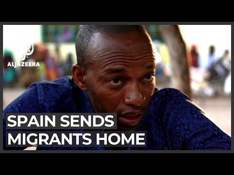 Spain starts sending migrants home