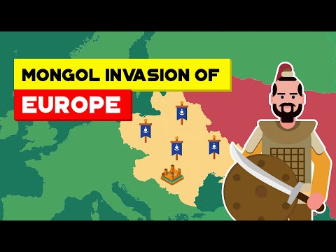 How Did The Mongol Empire Conquest Europe | Past to Future