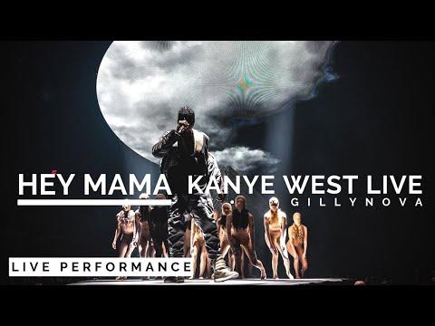 Hey Mama -  Kanye West (Yeezus Tour 2013 in San Jose, CA)