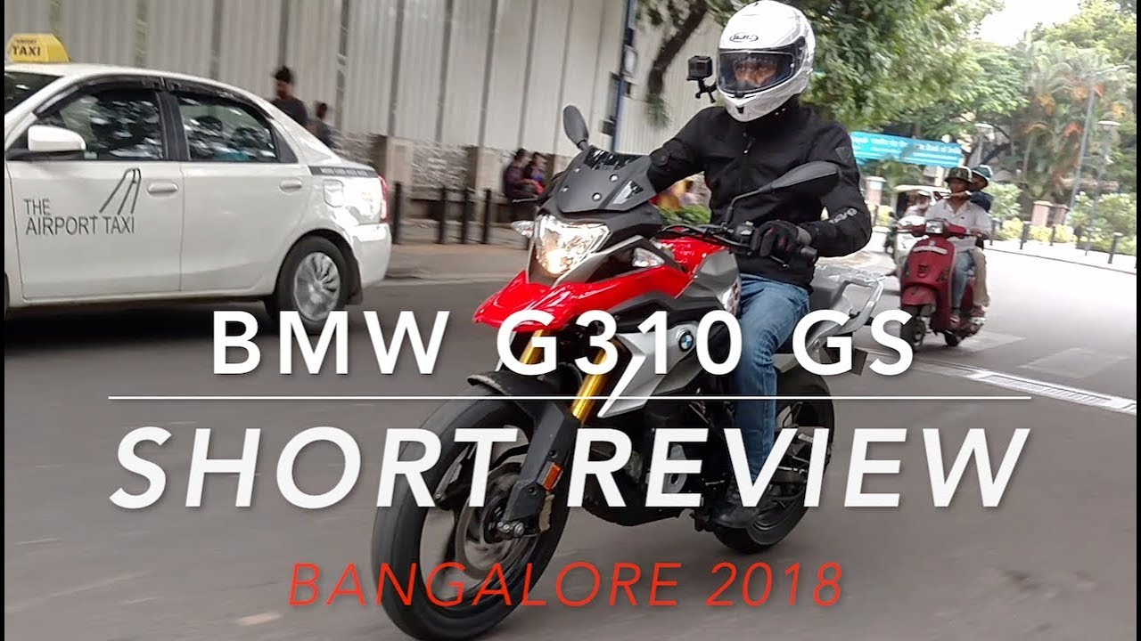 Bmw G310 Gs First Impressions Test Ride Bangalore India Youtube
