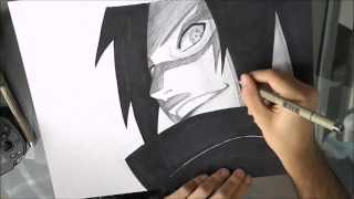 [Naruto] How to draw Madara Uchiha / Comment dessiner Madara Uchiha