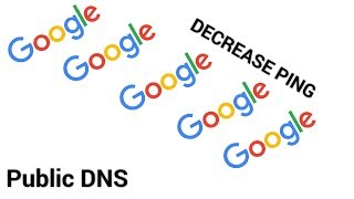 Setting Up Google Public DNS [Decrease Ping in Fortnite]