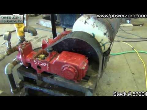 Kerr KJ-2250 Duplex Plunger Pump Package Stock 57204