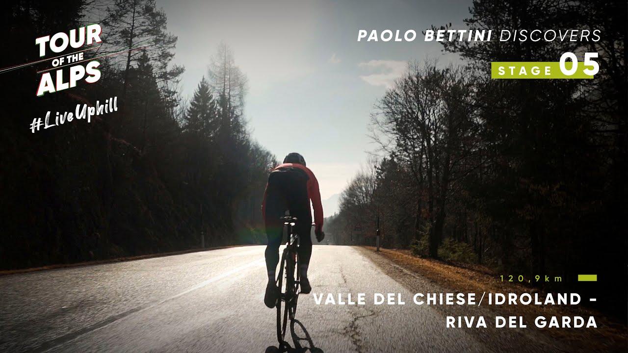 #TouroftheAlps 2021 - Paolo Bettini discovers Stage 5