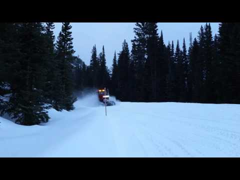 Cook city trip in a tucker snow cat