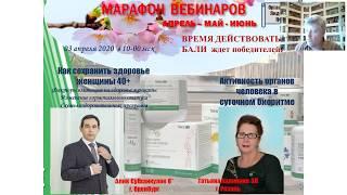 А.Субхангулов.Как сохранить здоровье женщины 40+. Т. Калинина. Активность органов человека.